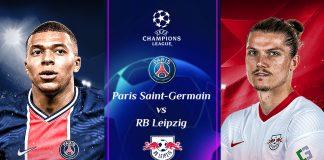 PSG VS RB Leipzig; Prediksi Pertandingan dan Link Live Streaming