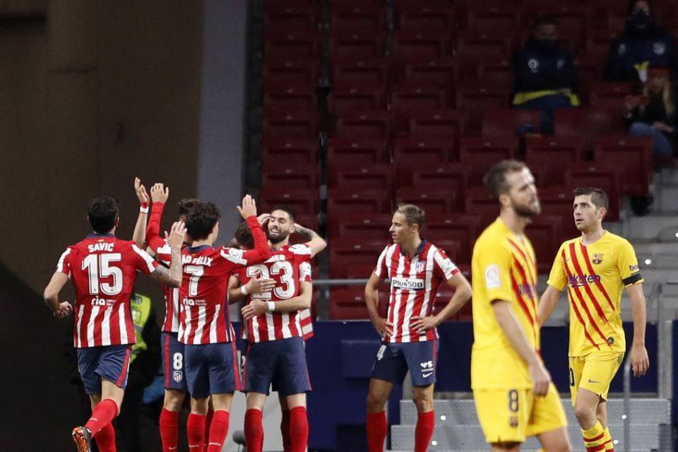 Setelah 9 Tahun, Simeone Akhirnya Bisa Menang Atas Barcelona