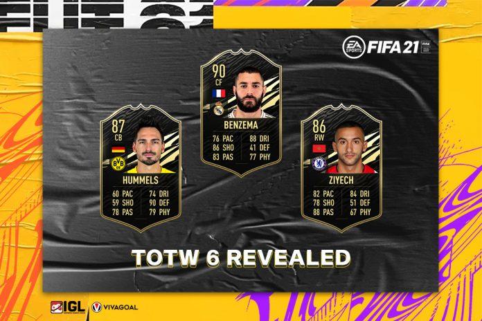 Dua Striker Maut Kota Madrid Masuk dalam TOTW 6 FIFA 21