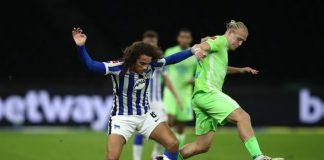 Tahan Imbang Wolfsburg, Hertha Berlin Putus Tren Empat Kekalahan Beruntun