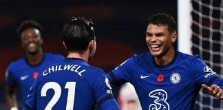 Thiago Silva dan Ben Chilwell