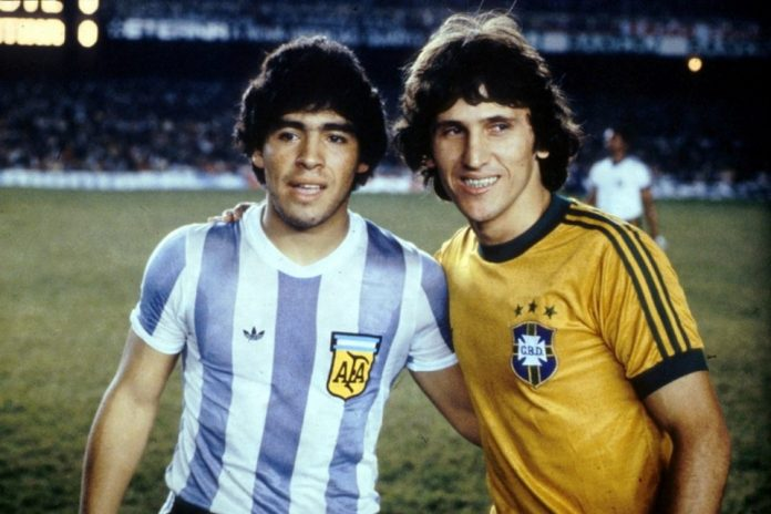 Zico Maradona