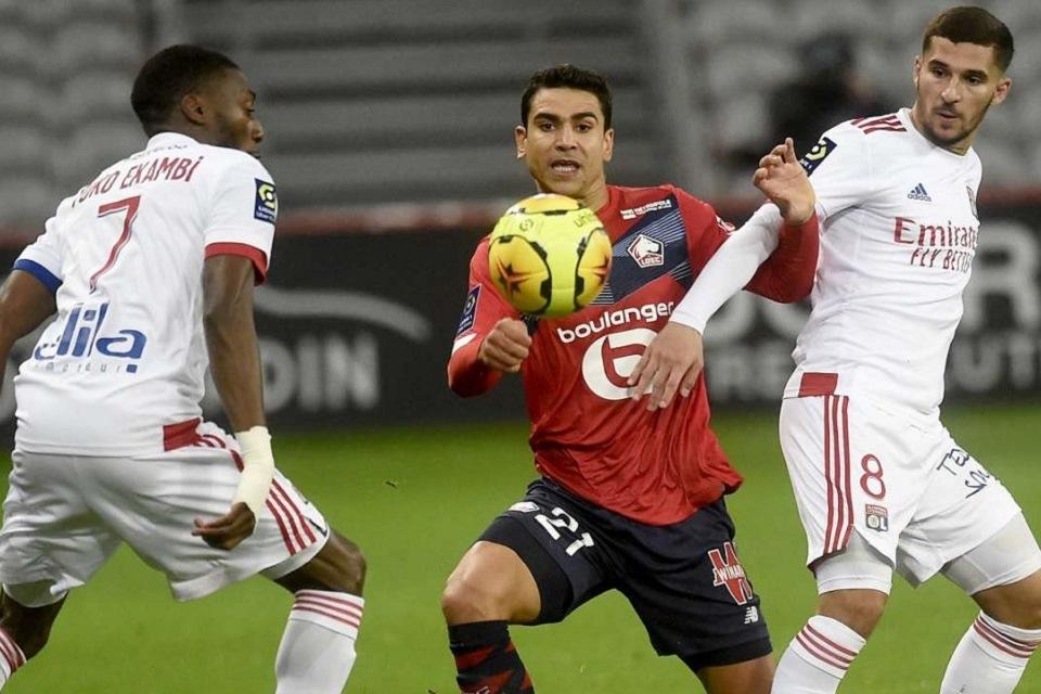 Unggul Jumlah Pemain, Lille Gagal Menang Atas Lyon