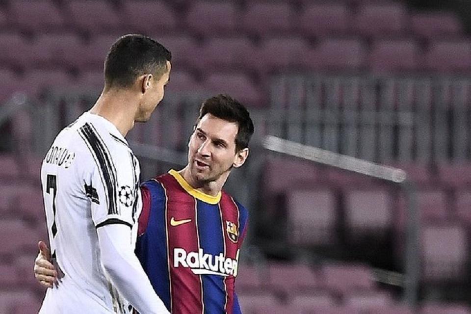 Gacor Karena Hadapi Messi, Ronaldo: Messi Bukan Rival Saya