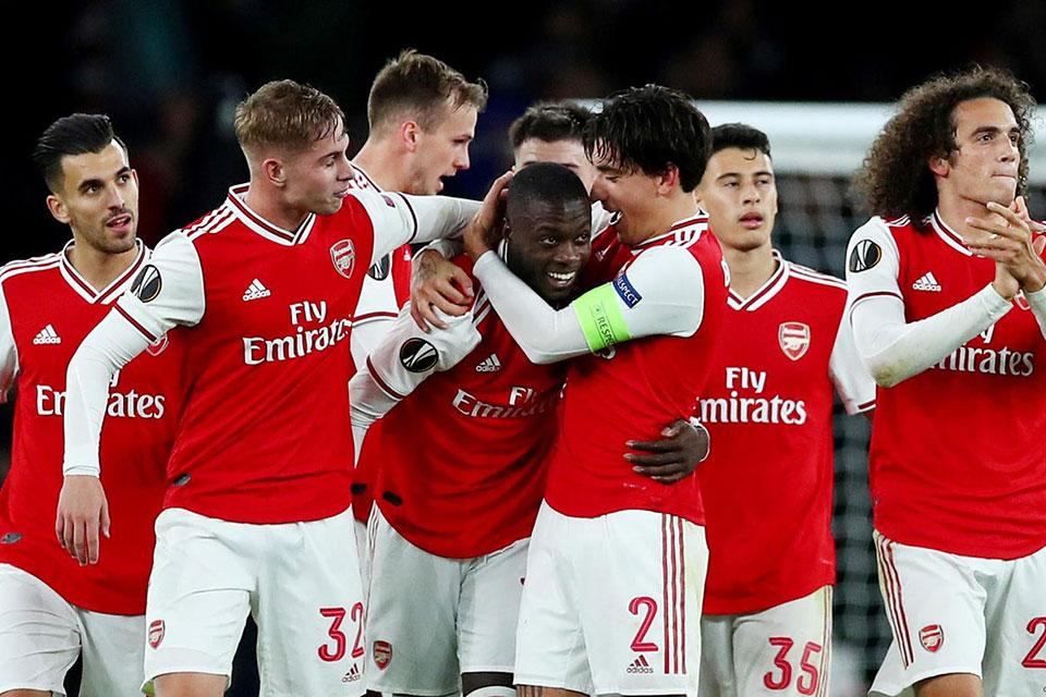 Arsenal Tampil Buruk, Bukan Salah Aubameyang tapi Semua Pemain