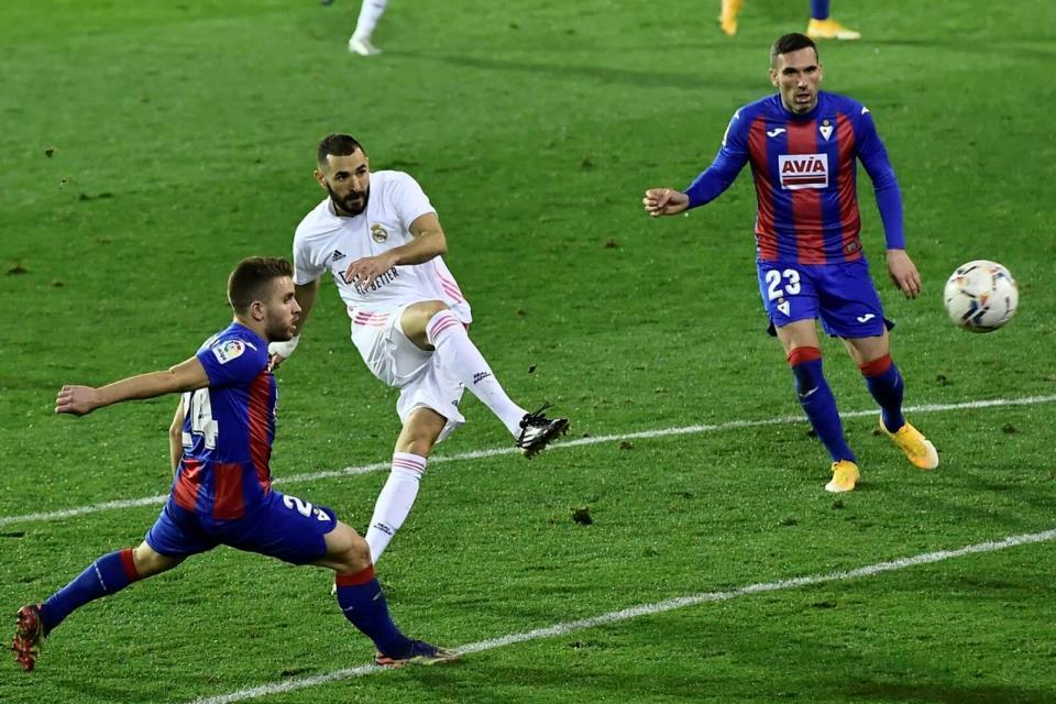 Tampil Apik Lawan Eibar, Zidane Kembali Puji Benzema