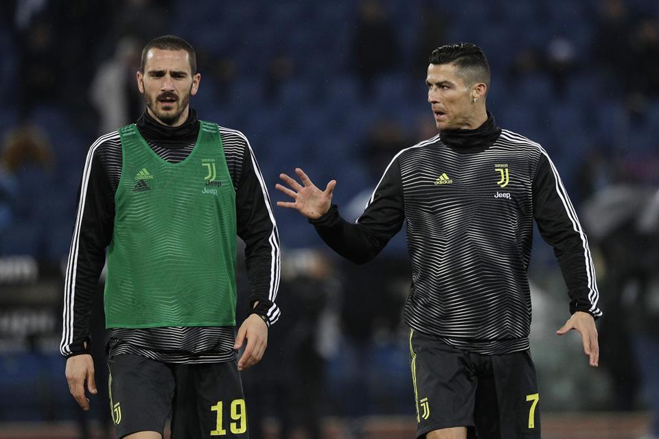 Bonucci Ronaldo