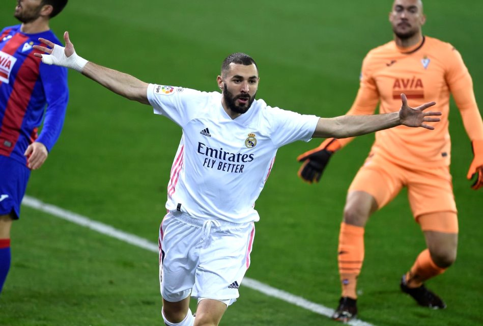 Catatan Impresif Benzema Di Laga Madrid vs Eibar