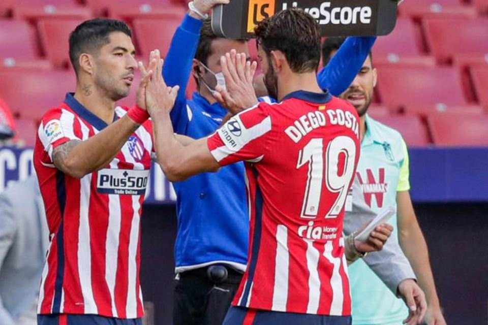 Diego Costa Harap Suarez Tidak Bosan Terus Cetak Gol