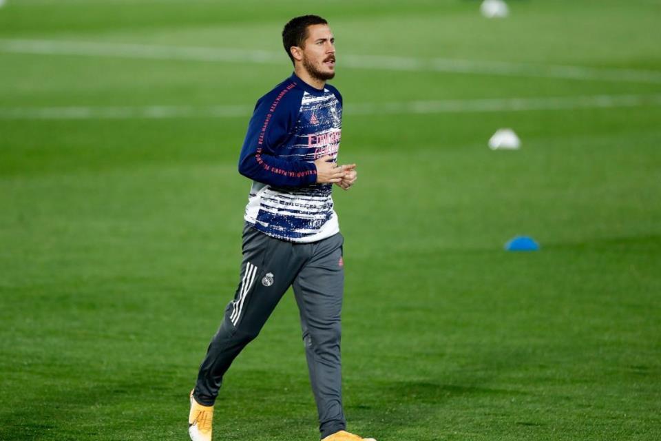 Pulih, Hazard Mulai Berlatih Bersama Madrid