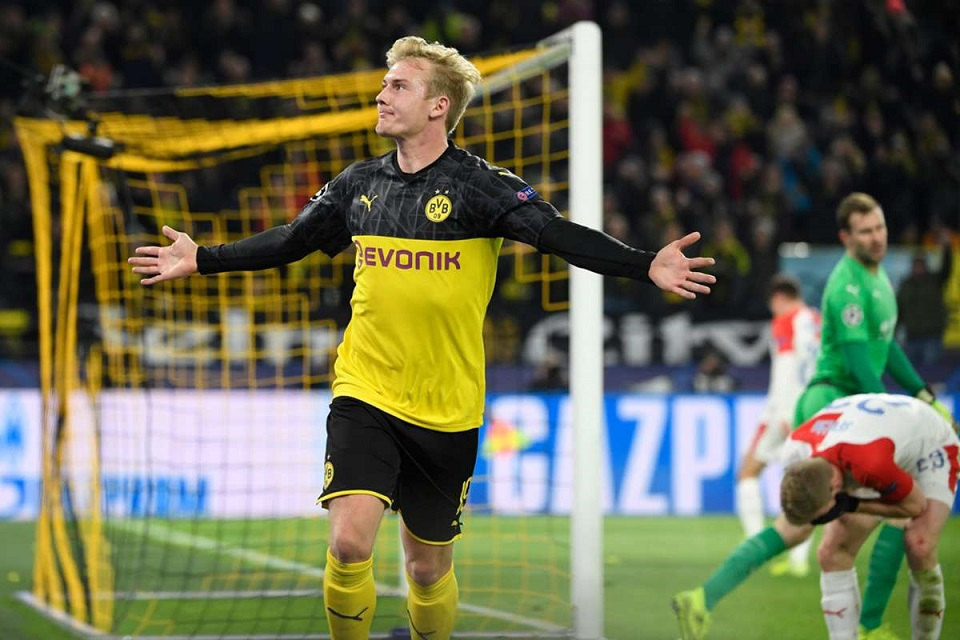 Julian Brandt, pemain muda Borussia Dortmund