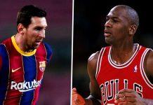 Di Basket, Michael Jordan Terhebat, Messi Terbaik Di Sepakbola
