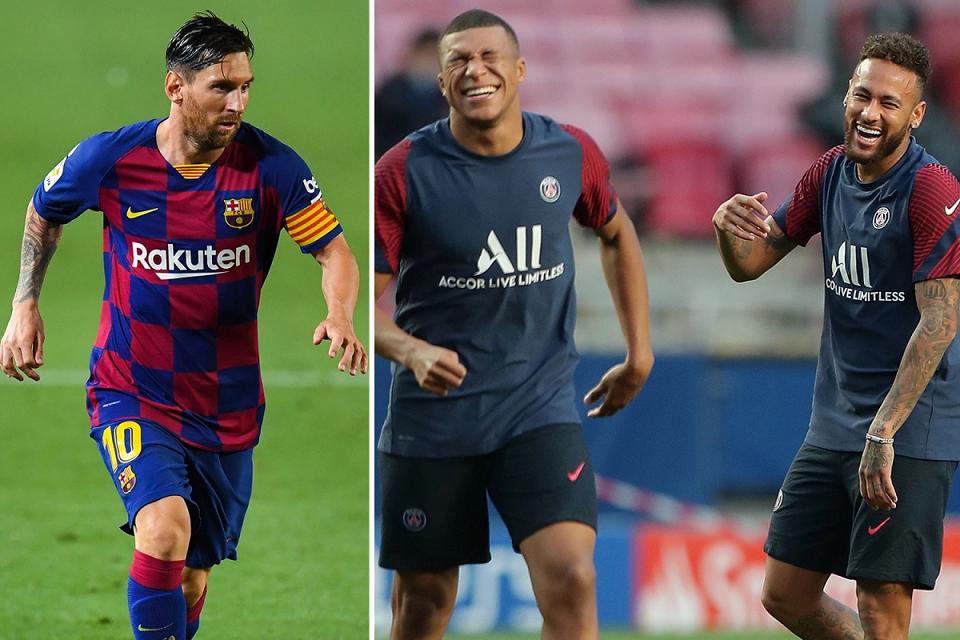 Trio Messi Neymar Mbappe akan Buat PSG tak Terkalahkan, Sepakat?
