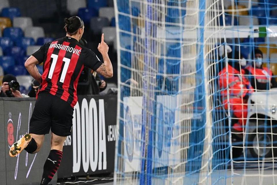 Milan Tampil Impresif, Eks Presiden Inter Puji Ibrahimovic
