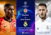 Shakhtar vs Real Madrid; Prediksi Pertandingan dan Link Live Streaming