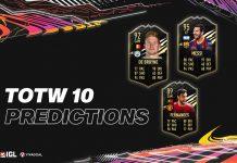 Jajaran Pemain yang Diprediksi Masuk ke dalam TOTW 10