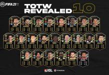 Jajaran Pemain yang Hadir dalam TOTW 10 FIFA 21