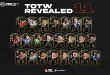 Jajaran Pemain Terbaik yang Hadir dalam Team of the Week Pekan 11 FIFA 21