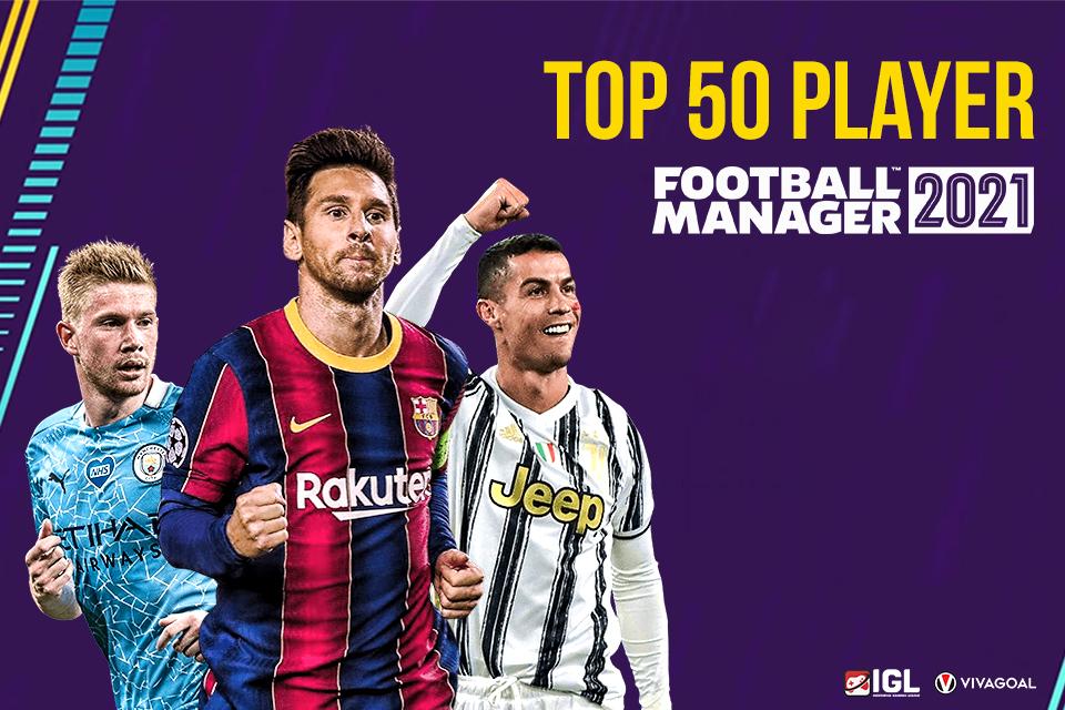 50 Pemain Terbaik di Football Manager 21