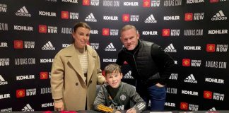 Wayne Rooney Kai Rooney