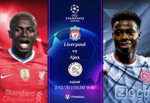 Prediksi Liverpool vs Ajax: Prediksi Pertandingan dan Link Live Streaming