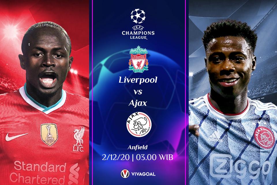 Prediksi Liverpool Vs Ajax Prediksi Pertandingan Dan Link Live Streaming Vivagoal Com