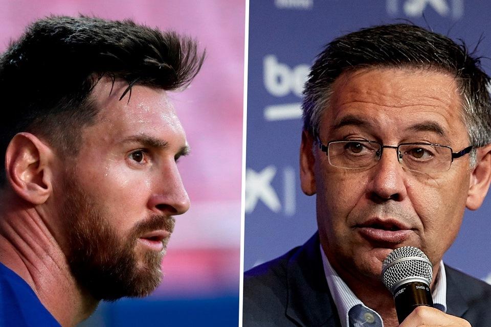 Messi Tuding Bartomeu Banyak Bohong Selama Menjabat Presiden Barcelona