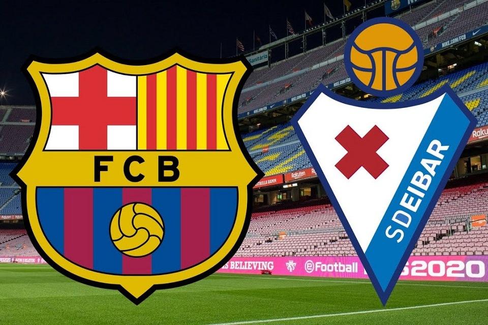 Barcelona vs Eibar: Prediksi, H2H, Link Live Streaming