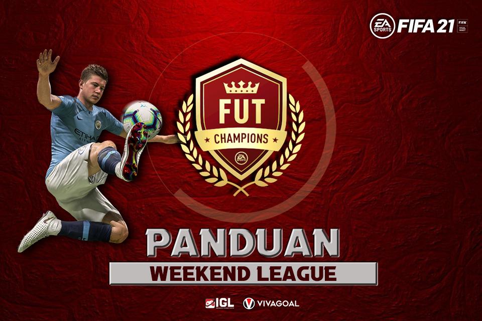 panduan-weekend-league-fifa-21