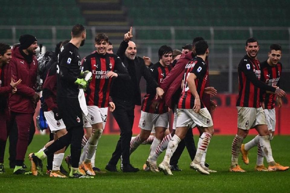 Pioli Bersyukur Lini Belakang AC Milan Tampil Solid