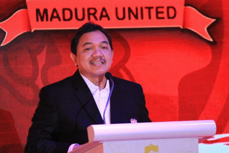 Petinggi Madura United Ajak Diskusi Mengisi Kekosongan