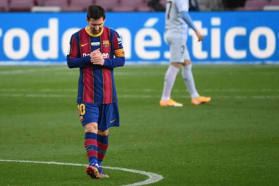 Barcelona Terancam Tanpa Messi di Finala Piala Super Spanyol