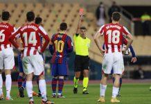 Beri Messi Kartu Merah, Sang Wasit Diminta Dihukum