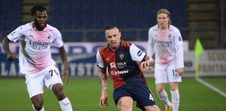 Cagliari Takluk Dari AC Milan, Nainggolan Sindir Rekan Setim