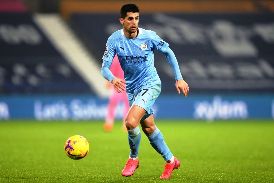 Cancelo Man City vs West Brom