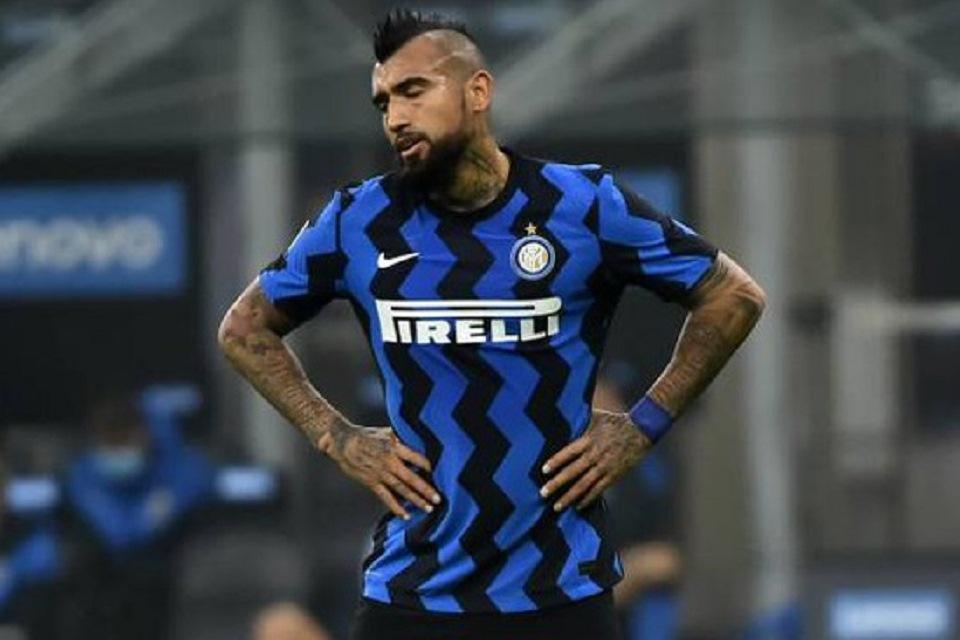 Bukti Vidal Sudah Tua Terlihat Jelas di Laga Inter Vs Crotone
