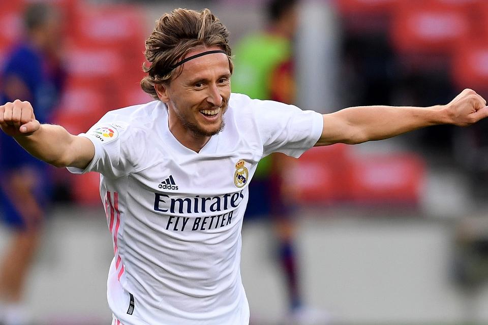 Kontrak Baru Luka Modric di Real Madrid Tinggal Menunggu Waktu