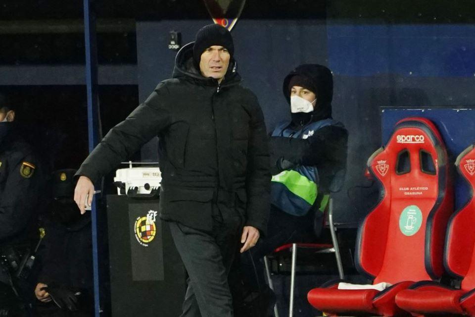 Madrid Ditahan Imbang Osasuna, Zidane Ini Bukan Laga Sepakbola