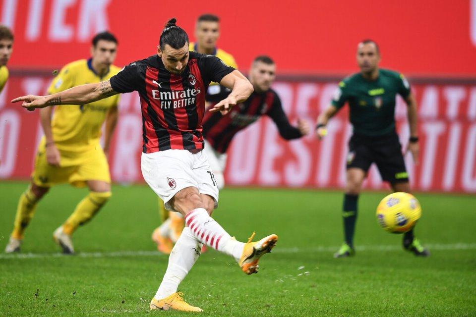 Punya Rekor Buruk Penalti, Ibrahimovic Tetap Eksekutor Utama AC Milan