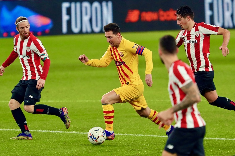Fakta dan Data Performa Messi Saat Hadapi Athletic Bilbao