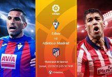 Prediksi Eibar vs Atletico Madrid, Sang Pemuncak Hadapi Trauma