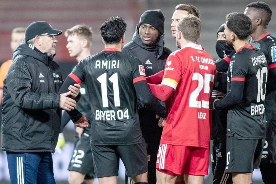 Aksi Rasisme di Laga Leverkusen Vs Union Berlin