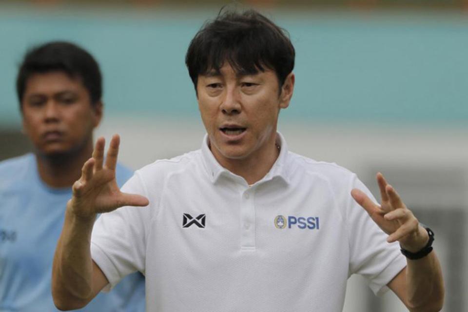 Shin Tae Yong Terus Semangati Timnas Muda