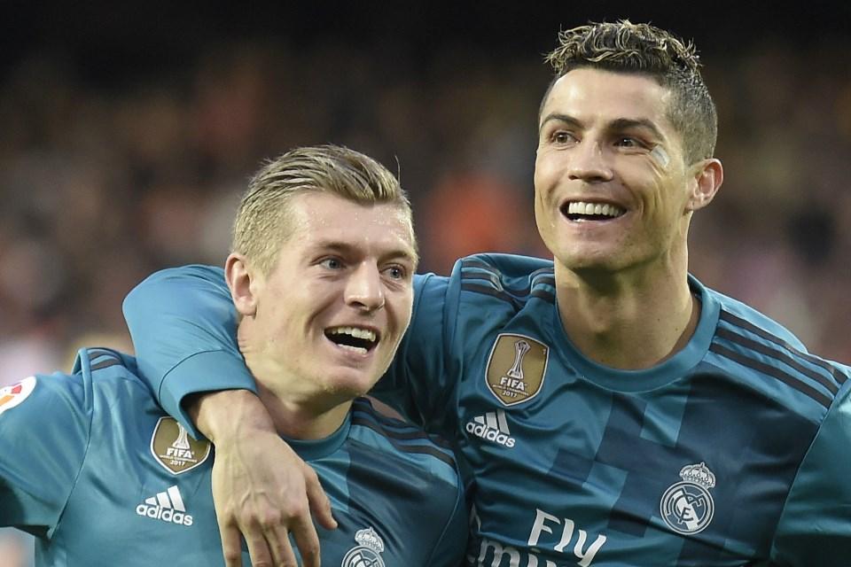 Diam-Diam, Toni Kroos Ingin Samai Rekor Cristiano Ronaldo!