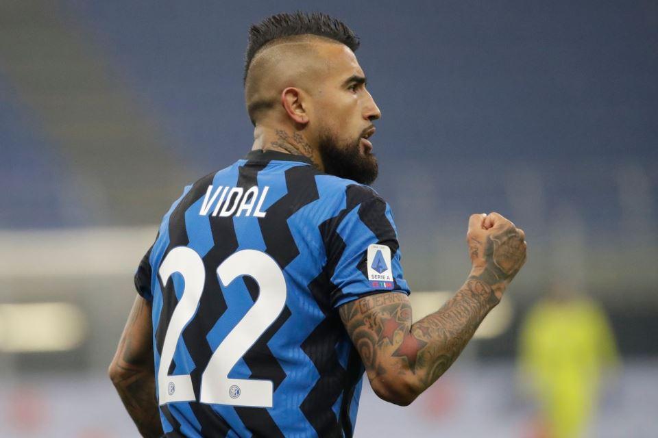 Menangi Derby d'Italia, Vidal Yakin Sekali Inter Raih Scudetto