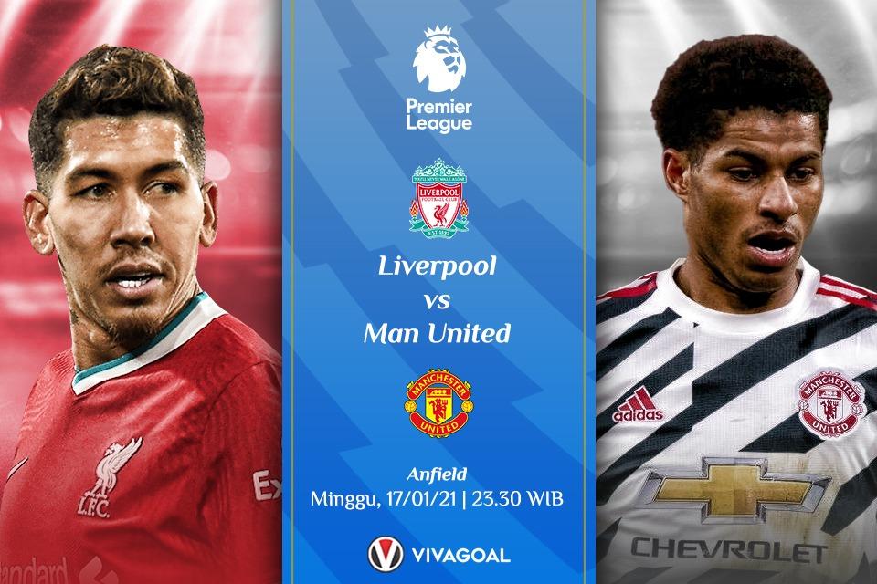 Prediksi Liverpool vs Manchester United