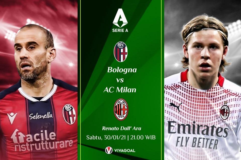 Prediksi Bologna vs AC Milan: Rekor Mentereng Rossoneri