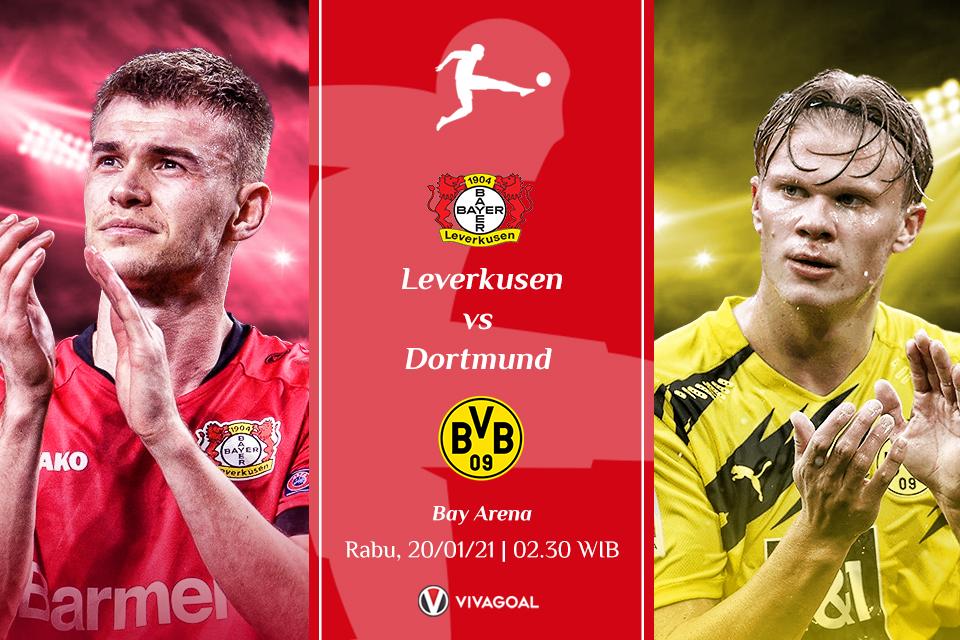 Leverkusen Vs Dortmund: Kedua Tim Akan Berhati-hati