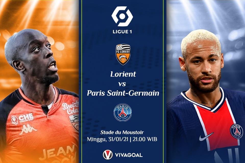 Prediksi Lorient Vs PSG, Misi Mudah Sang Raksasa Raup Tiga Angka