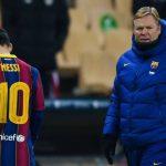 Barcelona Terus Andalkan Messi, Koeman: Tim Tak Bisa Terus Bergantung pada Pemain Terbaik
